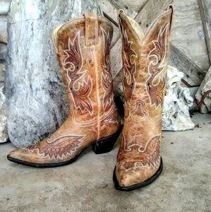 Corral cowboy boots size 8.5